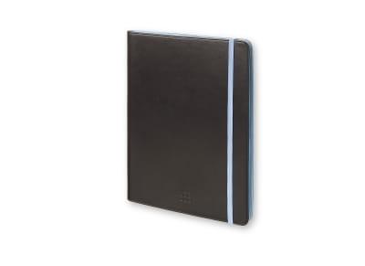 "Moleskine Δίχρωμη Θήκη Tablet Universal 7""/8"" Μαύρο/Μπλε gadgets   funky stuff   αξεσουάρ βιβλίων"