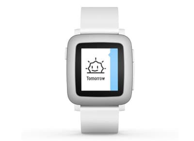 Smartwatch Pebble Time Λευκό