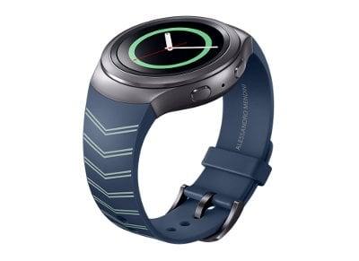 Λουράκι Samsung Gear S2 Strap Mendini Μπλε ET-SRR72MNEGWW