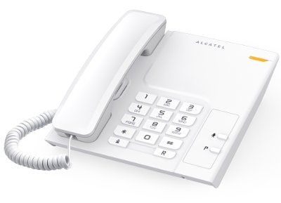 Alcatel T-26 Ενσύρματο Τηλέφωνο Λευκό