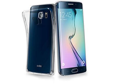 Θήκη & Μεμβράνη Samsung Galaxy S6 Edge - SBS Cover Aero TEAEROSASETPU Διαφανές