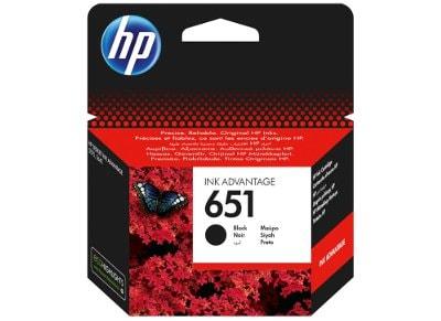Μελάνι Μαύρο HP 651 (C2P10AE)
