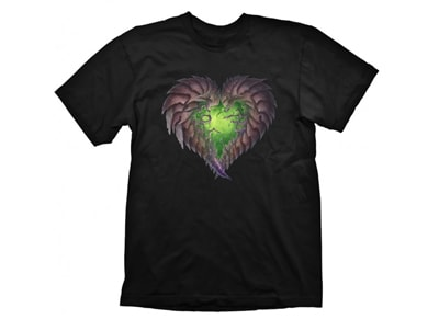 T-Shirt Gaya Starcraft 2 Zerg Heart Μαύρο - M gaming   gaming cool stuff