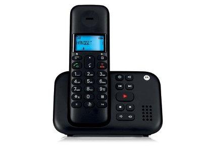 Motorola T311 Ασύρματο Τηλέφωνο Μαύρο