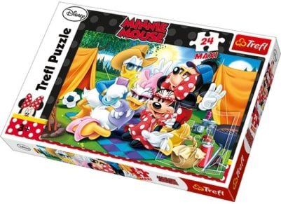 Παζλ Minnie and Friends Camping (24 Maxi Κομμάτια)