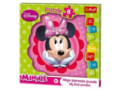 Puzzle Trefl: Baby Fun Dreaming Minnie 8 Κομμάτια (817-36117)