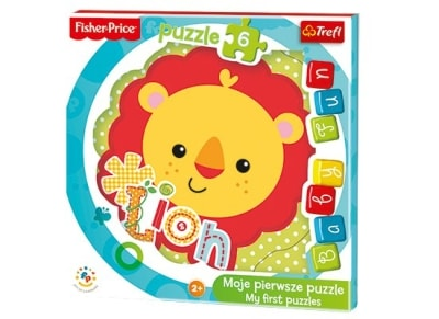 Puzzle Trefl: Baby Fun Cub Fisher Price 8 Κομμάτια (817-36120)