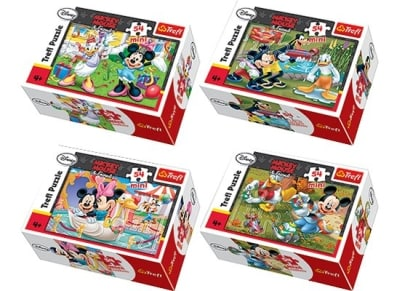 Puzzle Trefl: Mini Mickey & Friends 54 Κομμάτια (817-54069)