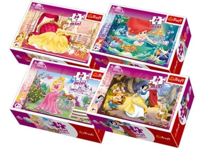 Puzzle Trefl: Mini Princesses 54 Κομμάτια (817-54105)