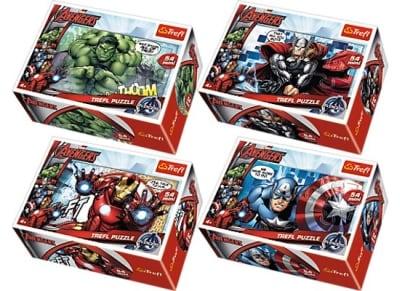 Puzzle Trefl: Mini Avengers 54 Κομμάτια (817-54140)