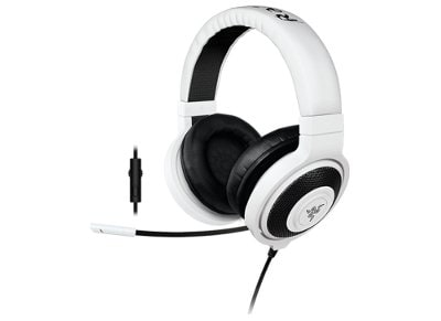 Gaming Headset Razer Kraken Pro In-Line Λευκό gaming   αξεσουάρ pc gaming   gaming headsets