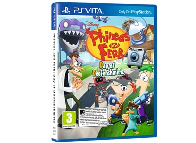Phineas and Ferb: Day of Doofenshmirtz - PS Vita Game gaming   παιχνίδια ανά κονσόλα   ps vita