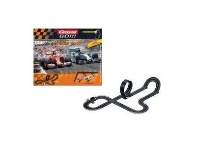 Πίστα Αγώνων Carrera Slot 1:43 Go - Speed Run