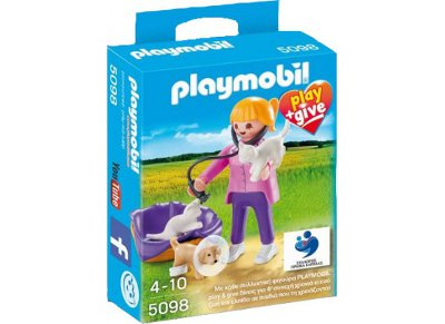 PLAYMOBIL 5098 Play & Give Κτηνίατρος