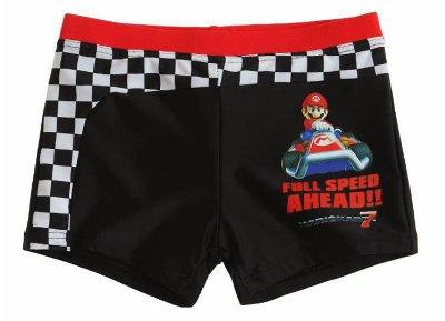 Μαγιό Nintendo Mario Kart Μαύρο - Παιδικό 04