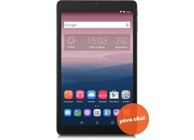 "Alcatel Pixi 3 3G - Tablet 10"" 8GB Μαύρο"