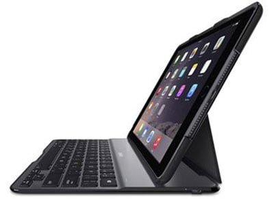 Belkin Qode Lite Keyboard Case iPad Air 2 - Θήκη Πληκτρολόγιο - Μαύρο