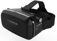 Shinecon Smartphone VR Headset & Bluetooth Remote Μαύρο - Μάσκα Εικ. Πραγματικότητας