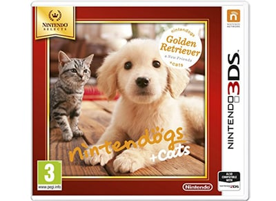 Nintendogs + Cats: Golden Retriever and New Friends Selects - 3DS/2DS Game gaming   παιχνίδια ανά κονσόλα   3ds 2ds