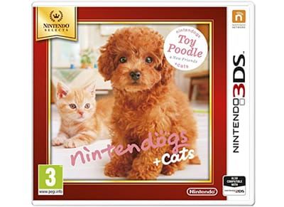 Nintendogs + Cats: Toy Poodle and New Friends Selects - 3DS/2DS Game gaming   παιχνίδια ανά κονσόλα   3ds 2ds