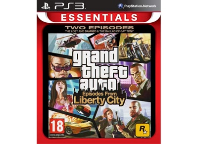 Grand Theft Auto: Episodes from Liberty City Essentials - PS3 Game gaming   παιχνίδια ανά κονσόλα   ps3