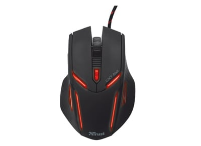 Trust GXT 152 - Gaming Mouse Μαύρο gaming   αξεσουάρ pc gaming   gaming ποντίκια