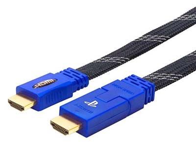 Καλώδιο HDMI 2.0 BigBen Flat 3D 4K 3m DGA.PS4.00065