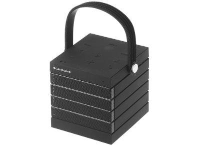 Φορητά Ηχεία Scansonic BT100 Wireless Μαύρο