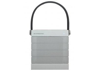 Φορητά Ηχεία Scansonic BT100 Wireless Λευκό