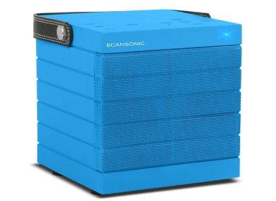 Φορητό Ηχείο Scansonic BT300 Wireless Mπλε