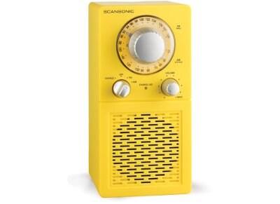 Φορητό Ράδιο Scansonic P2501 Κίτρινο