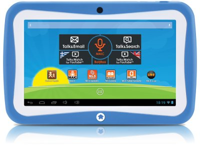 "MLS iQTab Kido Extra - Tablet 7"" 8GB Μπλε tablets   αξεσουάρ   tablets"