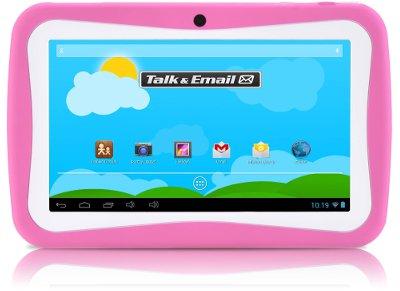 """MLS iQTab Kido Extra Tablet 7"""" 8GB Ροζ"""
