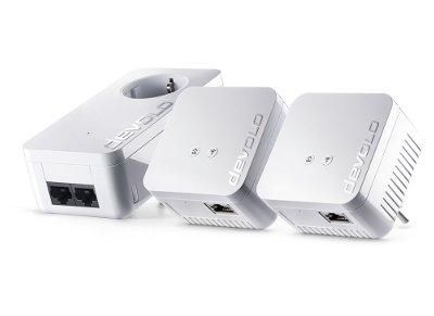 Powerline Devolo dLAN 550 WiFi kit 09645 - 500Mbps