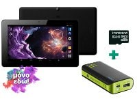 "eStar Grand HD Quad Core 4G - Tablet 10.1"" + Powerbank 4400mAh & MicroSD 8GB"