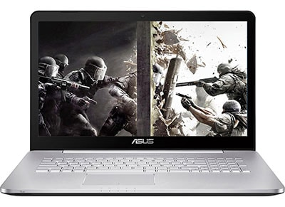 "Laptop Asus N752VX-GC103T - 17.3"" (i7-6700HQ/16GB/1128GB/ 950M) υπολογιστές   laptops"