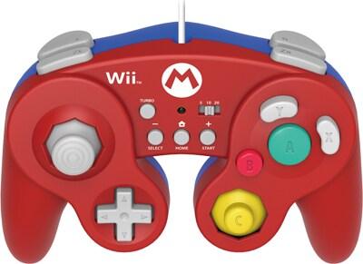 Hori Battle Pad Mario - Χειριστήριο Nintendo Wii U Κόκκινο gaming   αξεσουάρ κονσολών   wii u   χειριστήρια