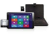 """eStar Gemini Windows IPS Quad Core Gift Pack & δώρο πληκτρολόγιο, ηχεία, κάρτα μνήμης - Tablet 8"""" 16GB"""