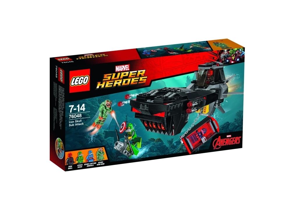 LEGO 76048 Υποβρύχια Επίθεση του Άιρον Σκαλ   Public