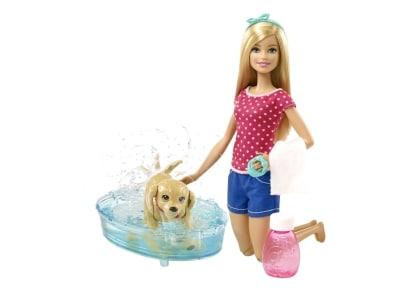 Barbie & Κουταβάκι Παιχνίδι στο Νερό (DGY83)