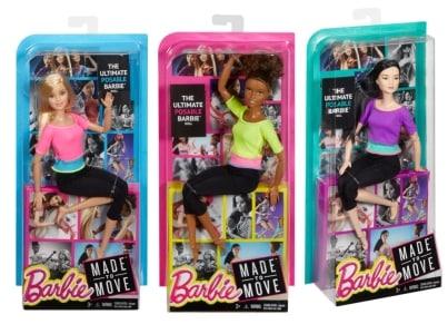 Barbie Αμέτρητες Κινήσεις - 3 Σχέδια - 1 τεμάχιο (DHL81)