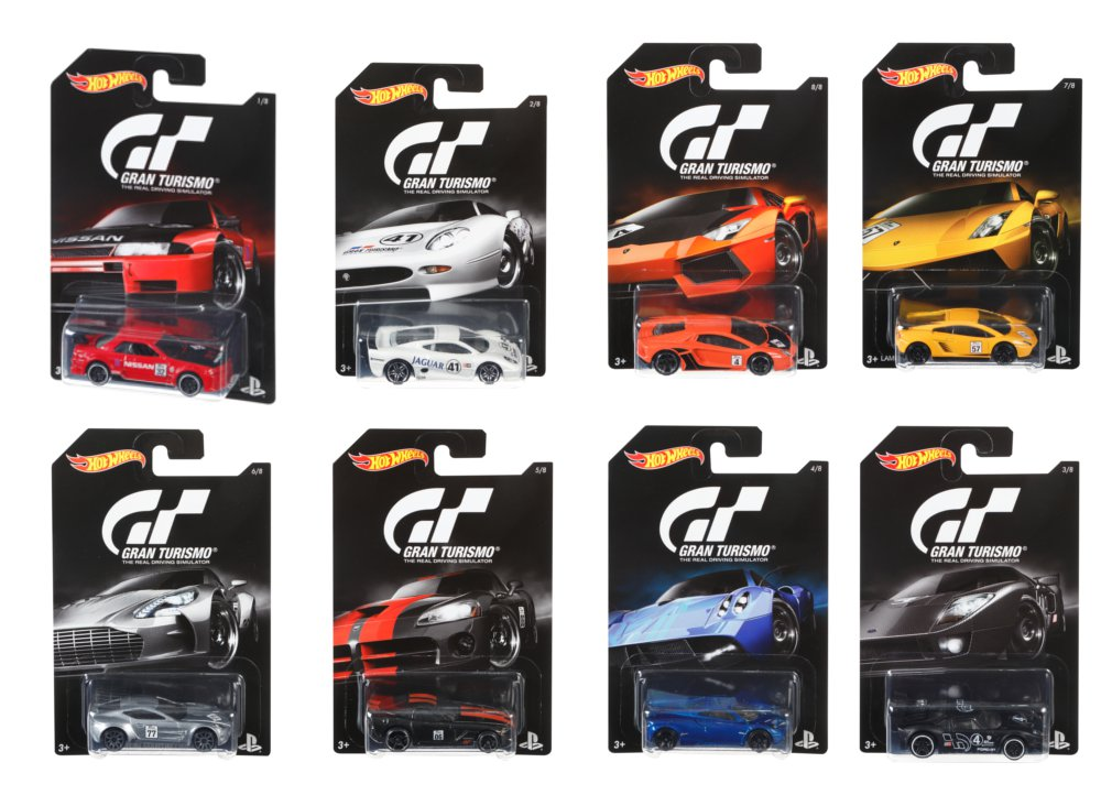 Αυτοκινητάκια Hot Wheels Grand Turismo - 1 τεμάχιο (DJL12)