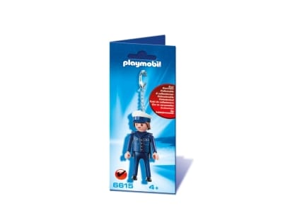 PLAYMOBIL 6615 Μπρελόκ Αστυνομικός