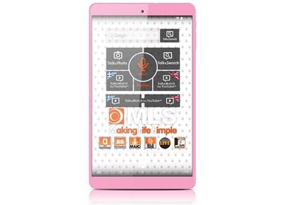 """MLS iQTab Rose - Tablet 8"""" 8GB Ροζ"""