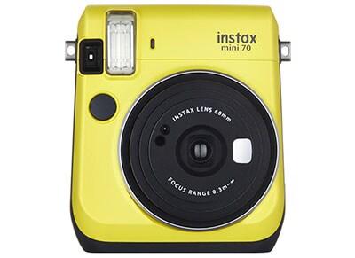 Instant Camera Fujifilm Instax Mini 70 - Κίτρινο