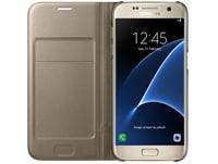 Θήκη Samsung Galaxy S7 - Samsung Flip Wallet - Χρυσό