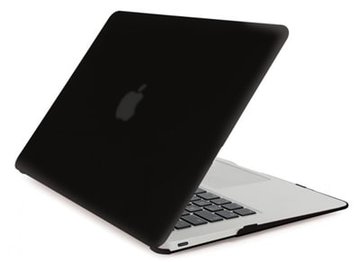 "Θήκη MacBook 12"" Tucano Nido Hard-shell Μαύρο"