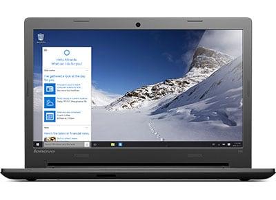 "Laptop Lenovo 100-15IBD - 15.6"" (i3-5005U/4GB/500GB/ HD) υπολογιστές   laptops"