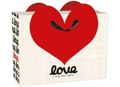 Σακκούλα Δώρου Medium Legami Love Collection - GB0360