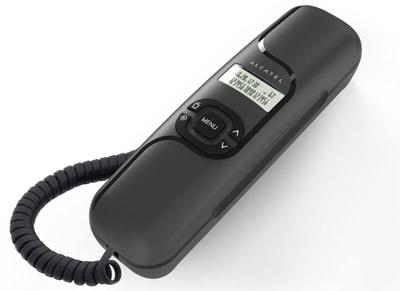 Alcatel Temporis T16 Ενσύρματο Τηλέφωνο Μαύρο T16 BLK